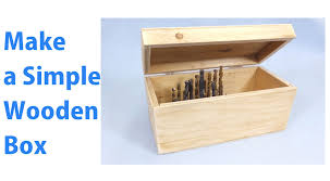 How To Make A Wooden Toy Chest by Making A Simple Wooden Storage Box A Woodworkweb Woodworking
