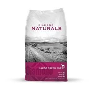 Diamond Naturals Large Breed Lamb and Rice Formula Dry Puppy Food - 20lb