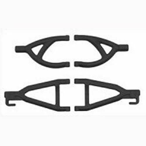 RPM 80602 Rear Upper Lower A-Arms - Black, 1/16 E-Revo