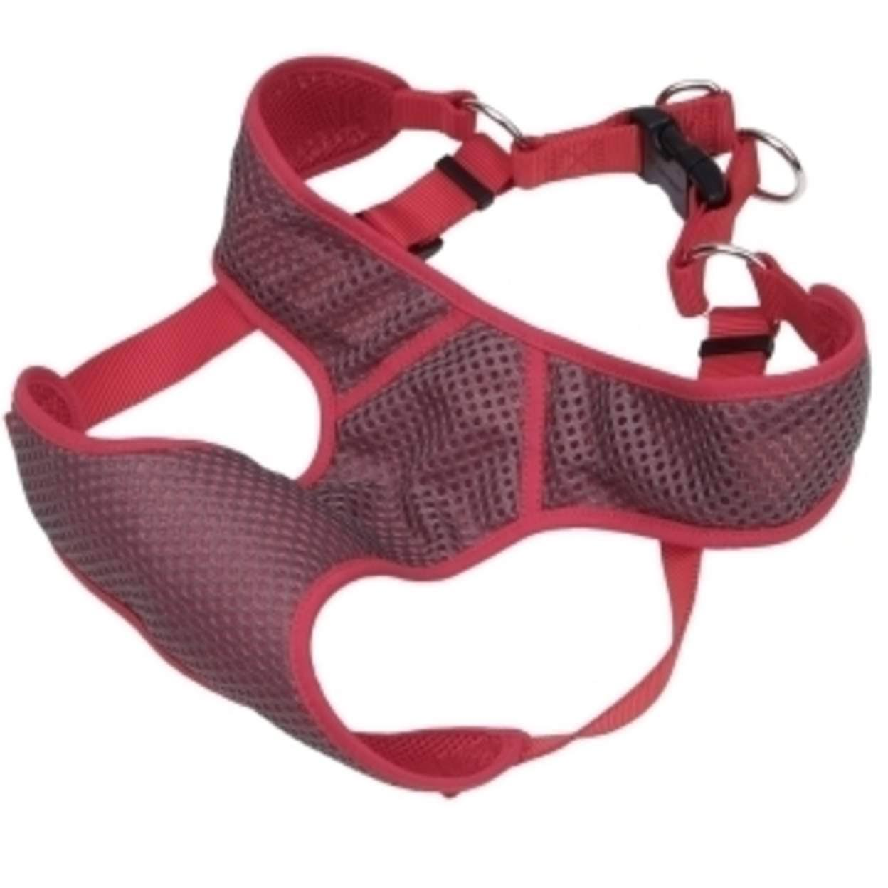Coastal Pet Comfort Soft Sport Wrap Dog Harness - Medium, Red