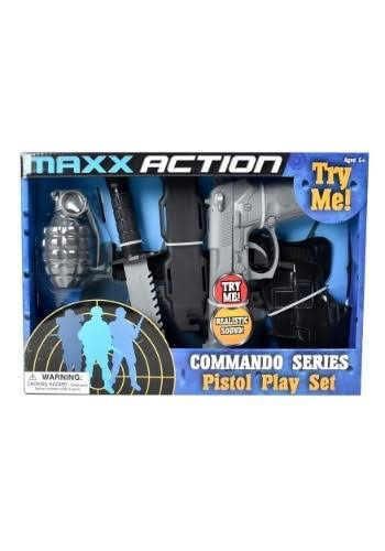 Maxx Action Commando Pistol Costume Dress-up Play Set - 5pcs