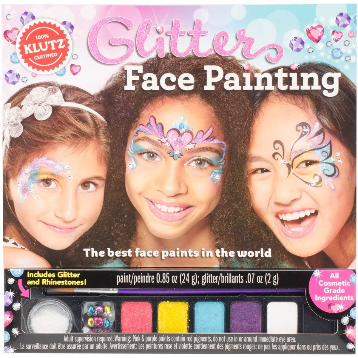 Klutz Glitter Face Painting Craft Kit