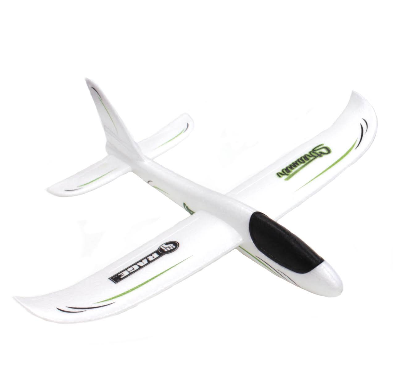 Rage RC RGR9006 Streamer Hand Launch Glider White