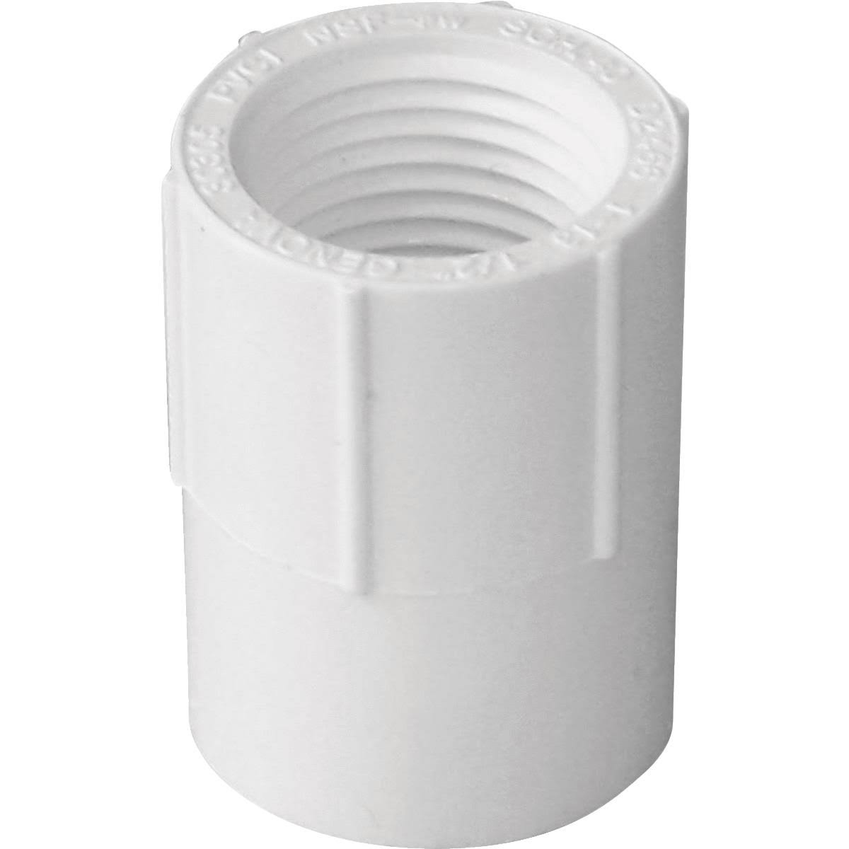 Genova Products Inc PVC Female Adapter - 1/2""