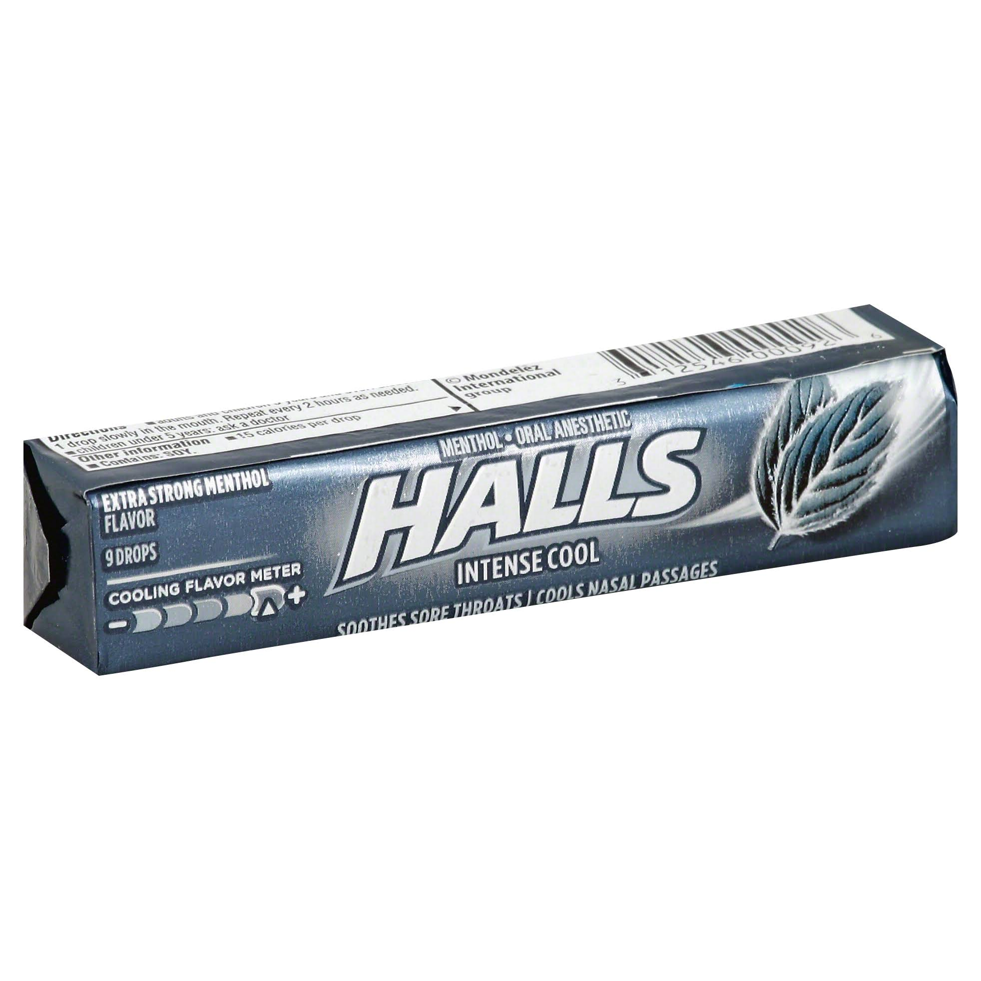 Halls Menthol Cough Drops - Extra Strong