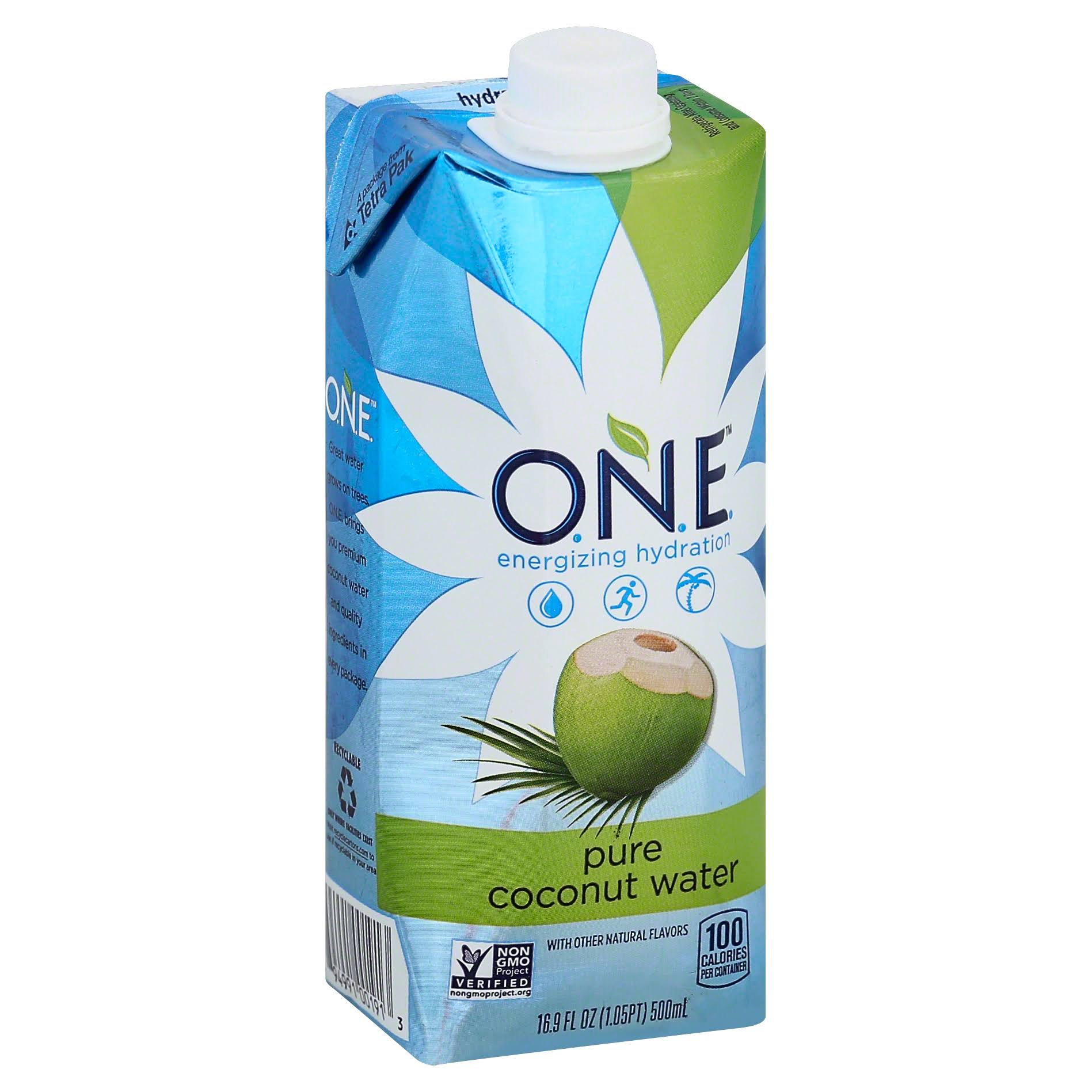 O.N.E. Pure Coconut Water - 12 Pack