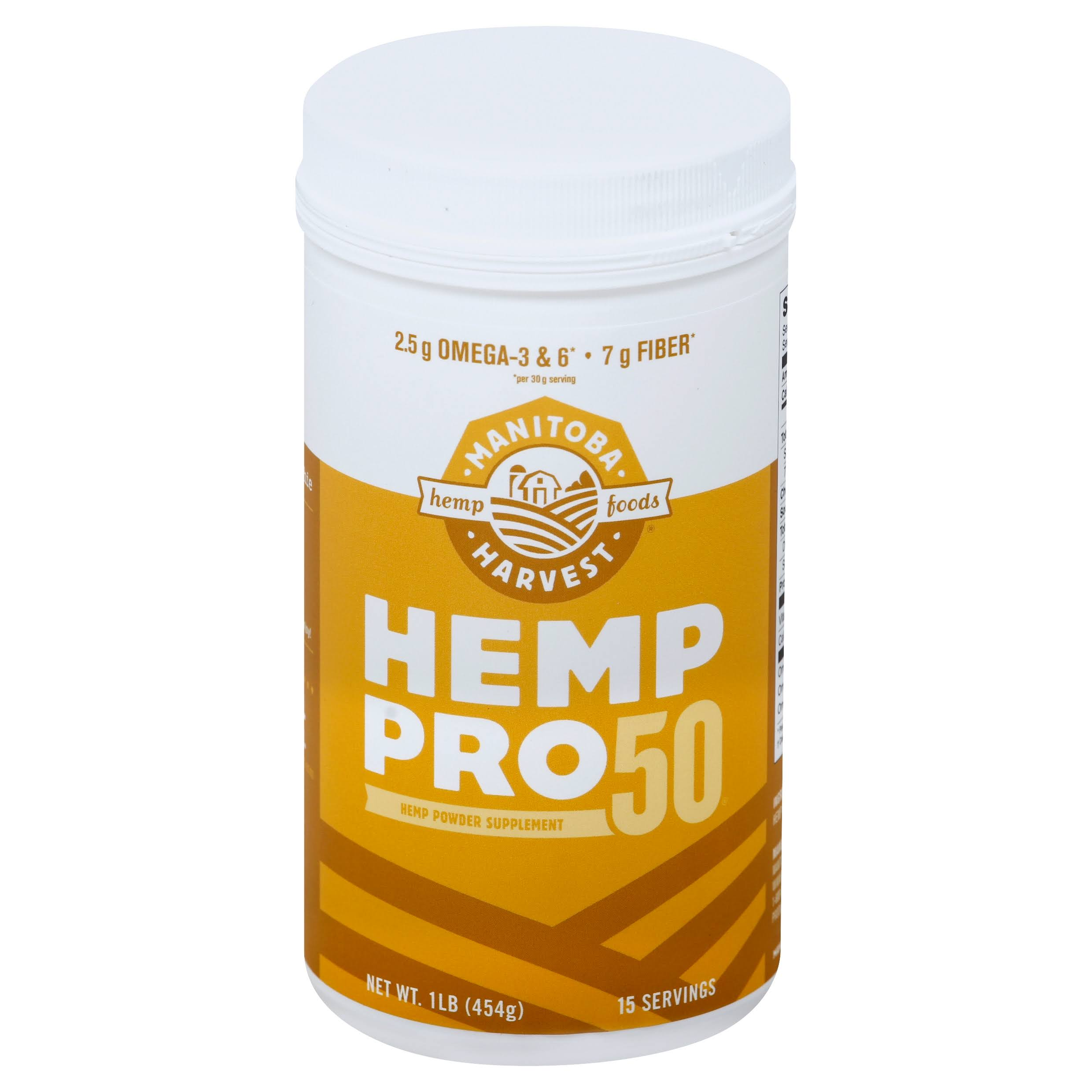 Manitoba Harvest Hemp Pro 50 Protein Supplement - 16oz