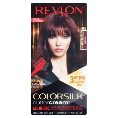 Revlon ColorSilk Buttercream Permanent Hair Color - 48BV Burgundy