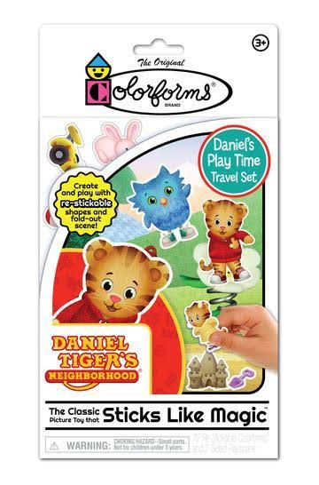 Colorforms Travel Play Set - Daniel Tiger