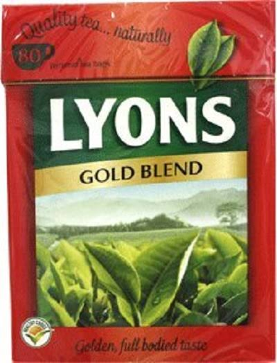 Lyons Gold Blend Tea - 232g, 80ct