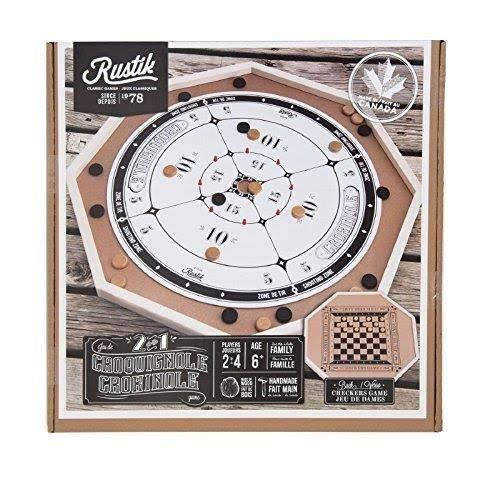Imaginaire Deluxe 2 in 1 Crokinole Game