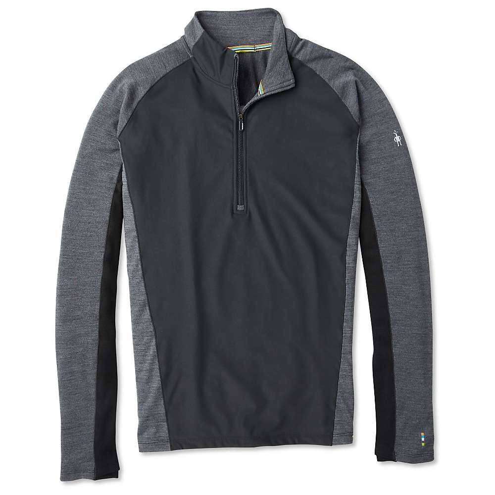 Smartwool Men's Merino Sport 250 Wind 1/2 Zip - Large, Black