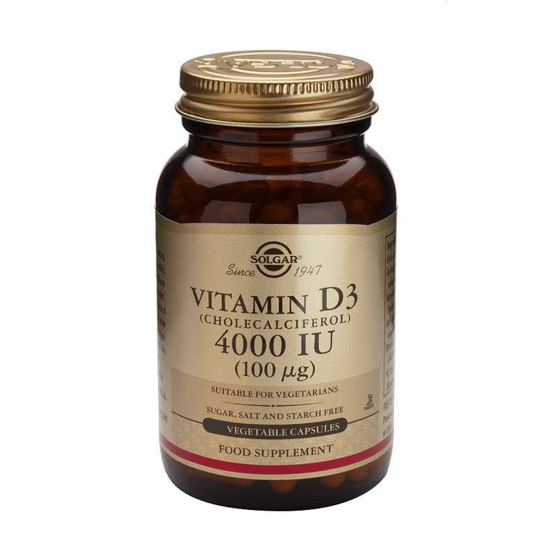 Solgar Vitamin D3 Food Supplement - 120 Capsules