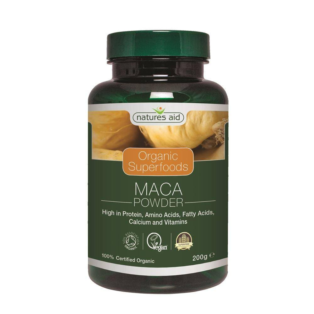 Nature's Aid Organic Maca Powder - 200g