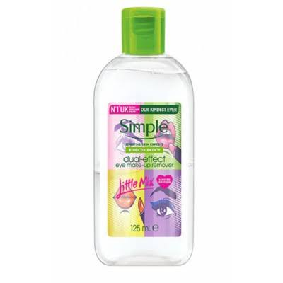 Simple x Little Mix Dual-Effect Eye Make-up Remover 125ml
