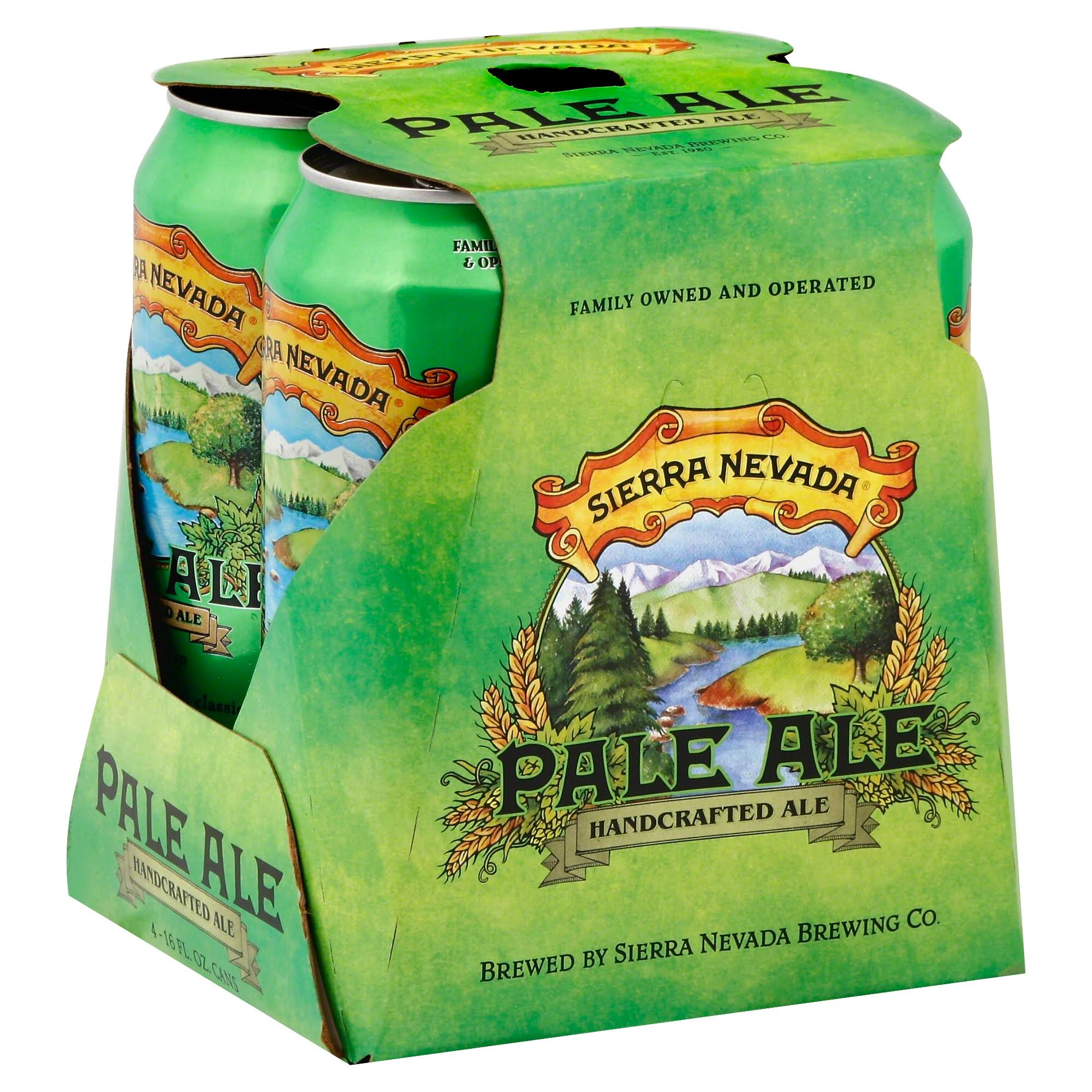 Sierra Nevada Pale Ale - 4 pack, 16 fl oz cans