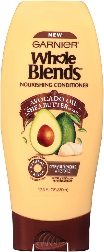 Garnier Whole Blends Nourishing Conditioner - Avocado Oil & Shea Butter Extracts