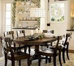 White And Green Dining Area - Dining Area Interiors