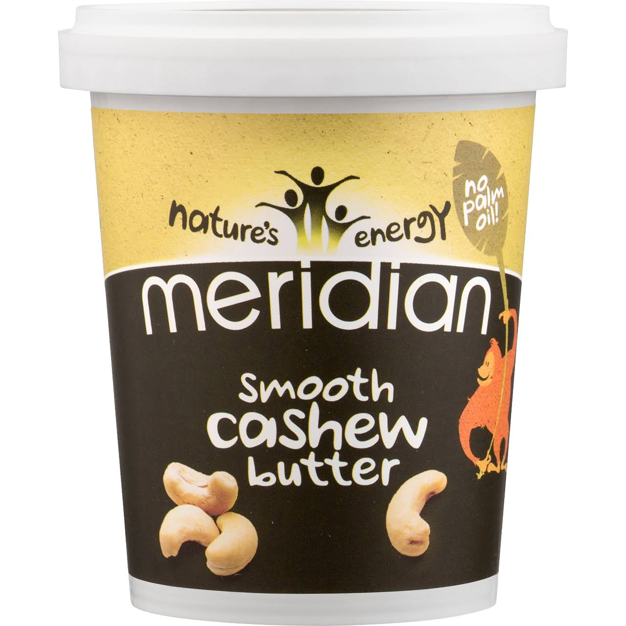 Meridian Smooth Cashew Butter 100% 454g