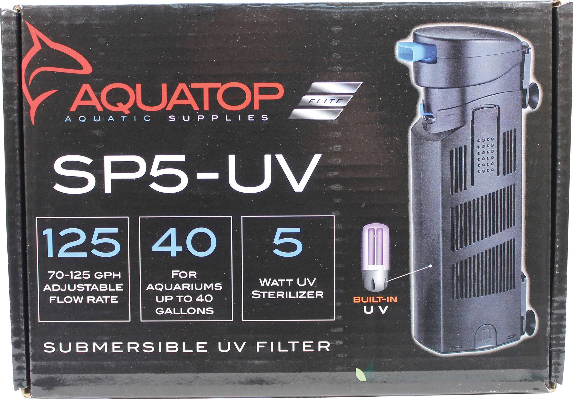 Aquatop SP5 UV Sterilizing Pump - 7W
