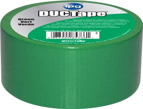Intertape Polymer Group 6720GRN Duct Tape - Green, 20yds