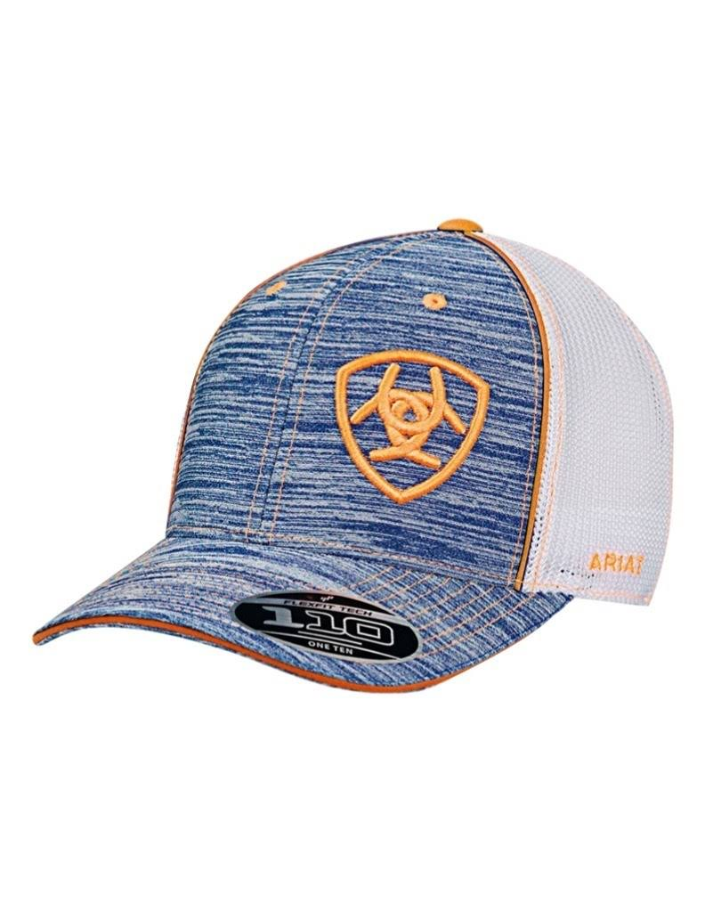 Ariat Flexfit Mesh Hat Heather Blue