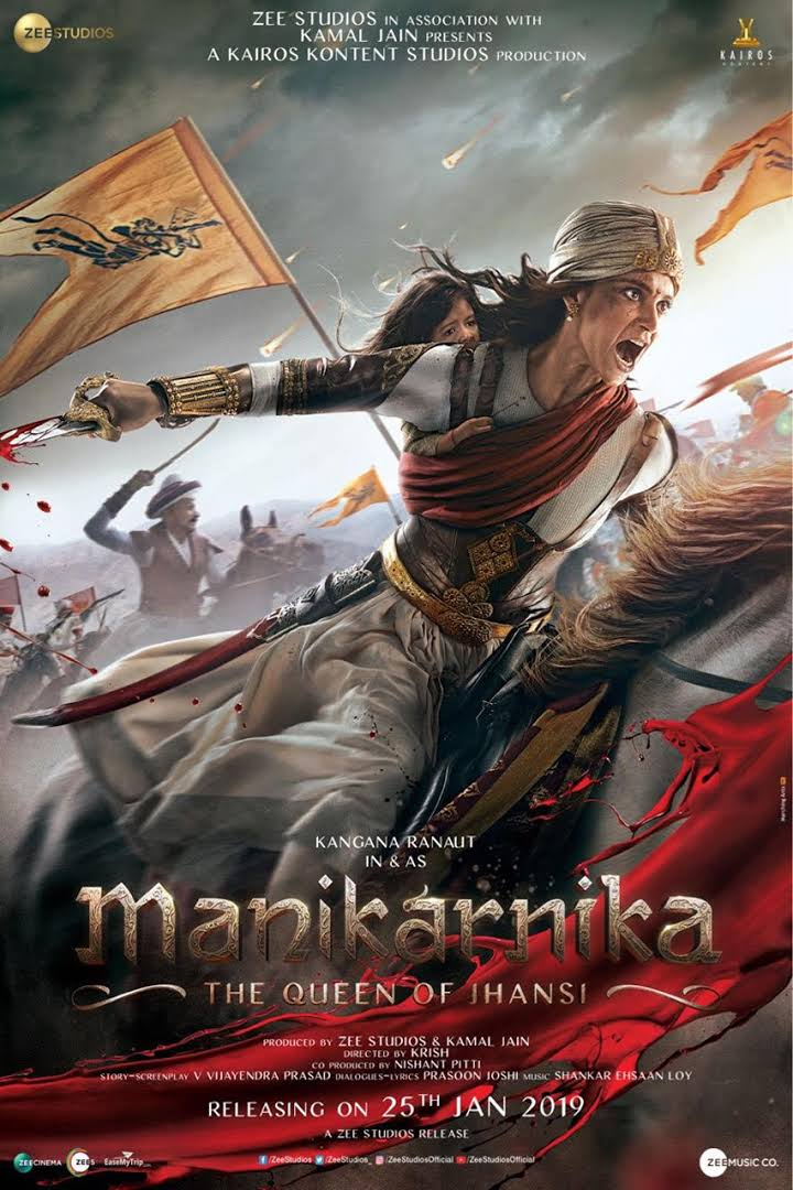 Manikarnika: The Queen of Jhansi Download Full Movie for Free In HD 720p 770 MB