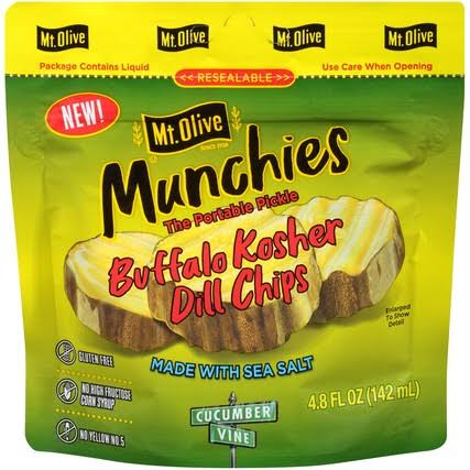 Mt. Olive Munchies Buffalo Kosher Dill Chips