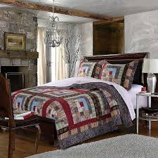 Southwest Decoratives Quilt Shop by Amazon Com Greenland Home 3 Piece Colorado Lodge Quilt Set King
