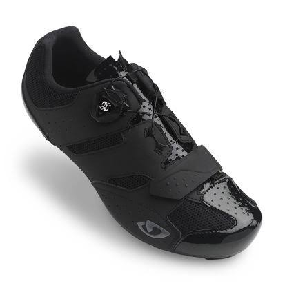 Giro Savix Road Racer Bike Cycling Cycle Shoes - Black, 46 EU