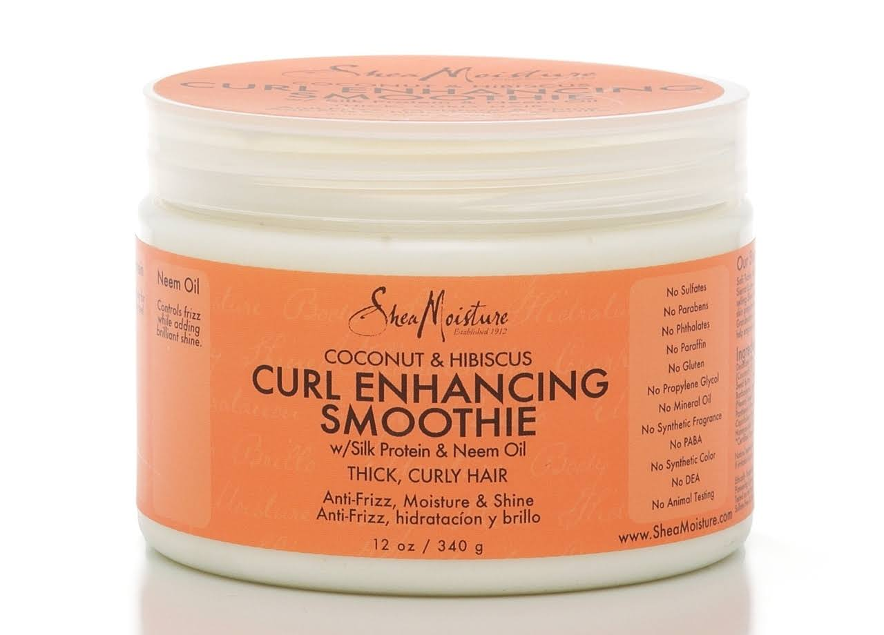 Shea Moisture Coconut and Hibiscus Curl Enhancing Smoothie - 12oz