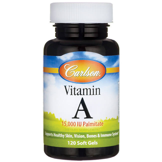 Carlson Labs Vitamin A Palmitate Supplement - 120 Softgels