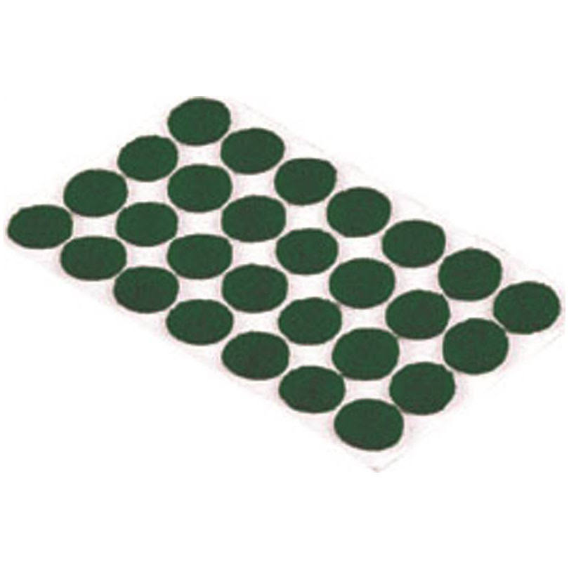 Shepherd Hardware Felt Pads - Green, 3/8""