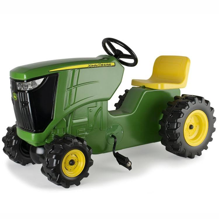 Tomy John Derre Pedal Powered Tractor Diecast Model - Green