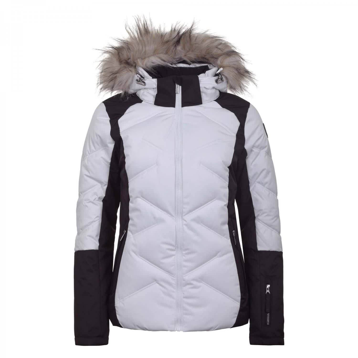 Icepeak Elsah Women Ski Jacket White