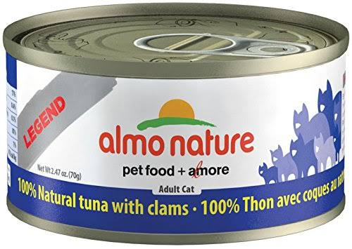 Legend Almo Nature Cat Food - Trout and Clam, 2.47oz