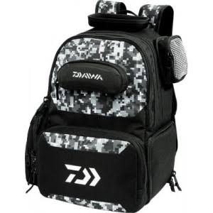 Daiwa D Vec Tactical Soft Sided Backpack Bag - Black