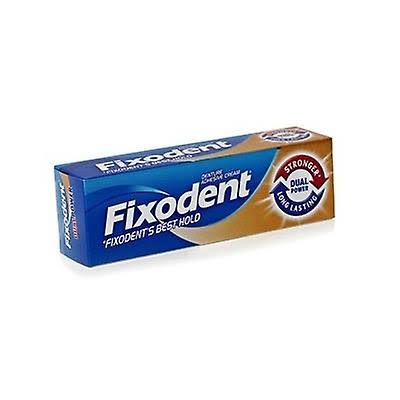 Fixodent Plus Dual Power Denture Adhesive Cream - 40g