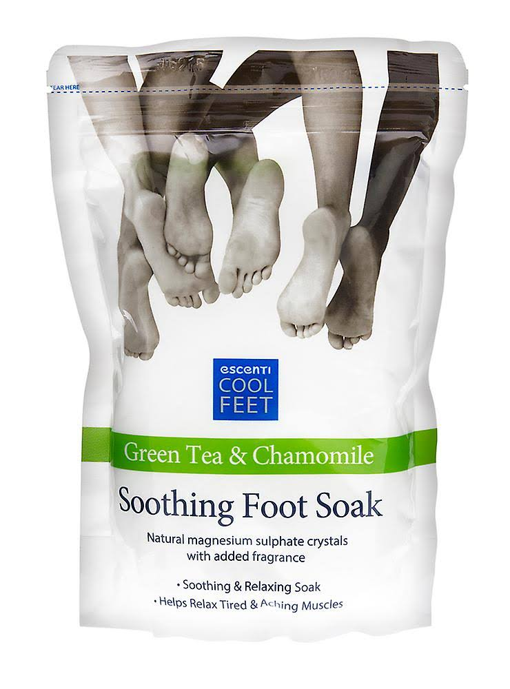 Escenti Cool Feet Green Tea & Chamomile Soothing Foot Soak 450g