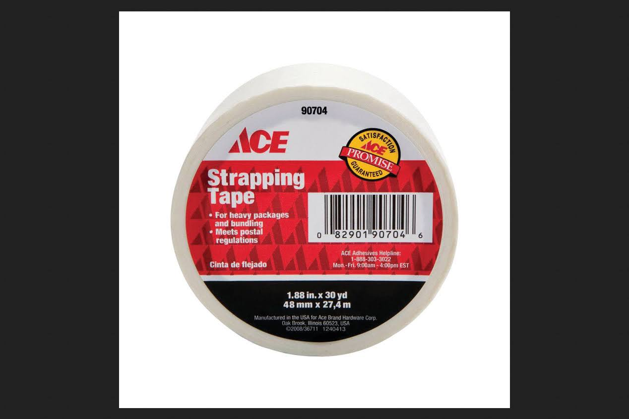 Ace Strapping Tape - 1.88 in x 30 yd