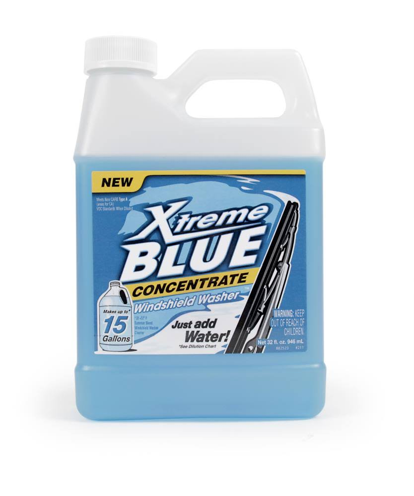 Camco Xtreme Blue Concentrate Windshield Washer Fluid - 32oz