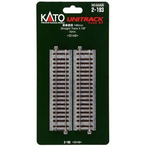 Kato 2-193 Straight Track - 149mm, 2 Pieces