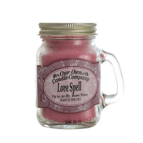 Our Own Candle Company Love Spell Mini Mason Jar Candle