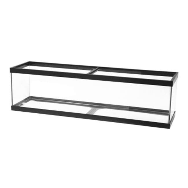 "All Glass Aquarium Long Black Tank - 48"" x 13"" x 12"""