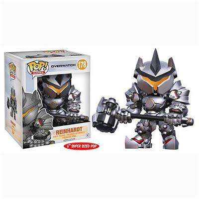 Funko Pop Games Overwatch Reinhardt Vinyl Figure - 15cm