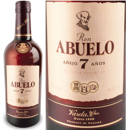 Ron Abuelo 7 Year Old Rum - 750 ml bottle
