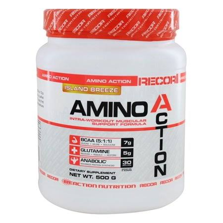 Reaction Nutrition Amino Action - Island Breeze