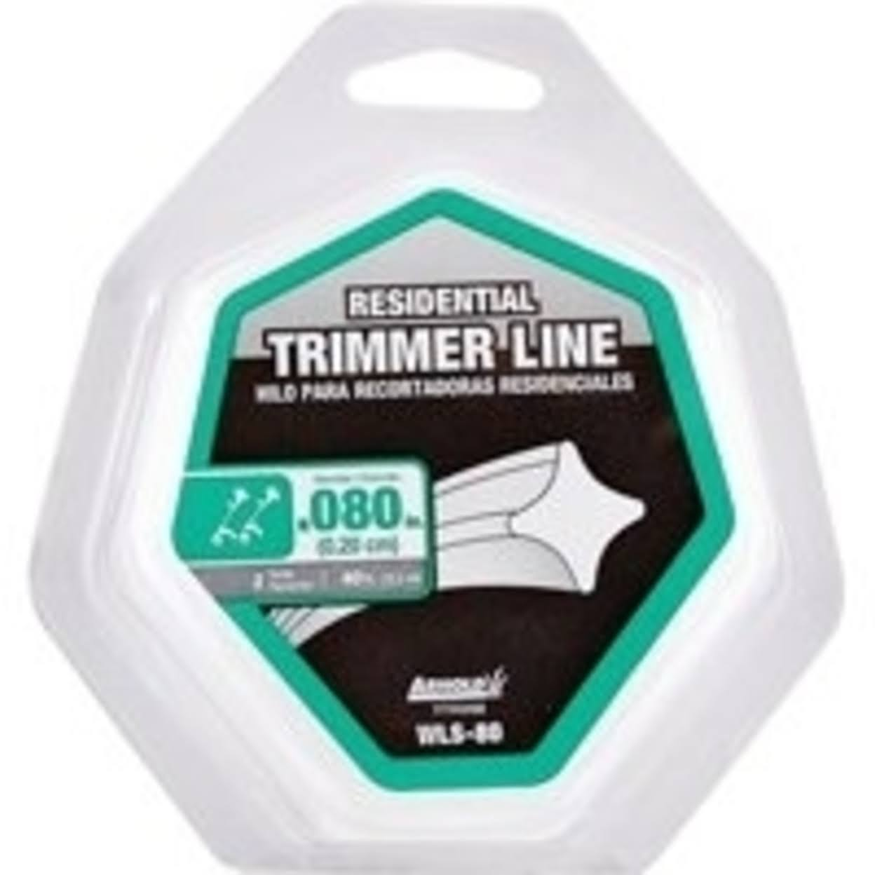 Arnold Trimline .08-Inch x 40-Foot Residential Grade Trimmer Line