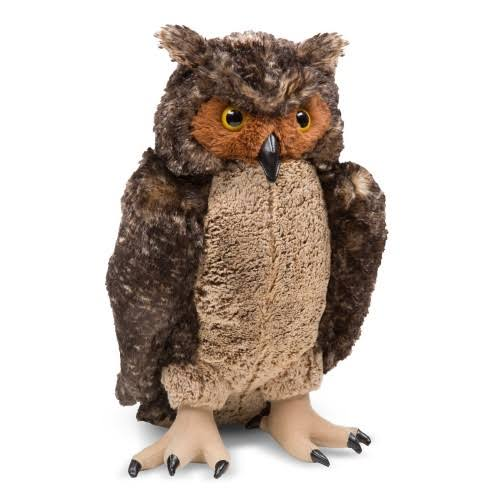 Melissa & Doug Giant Owl Plush Toy