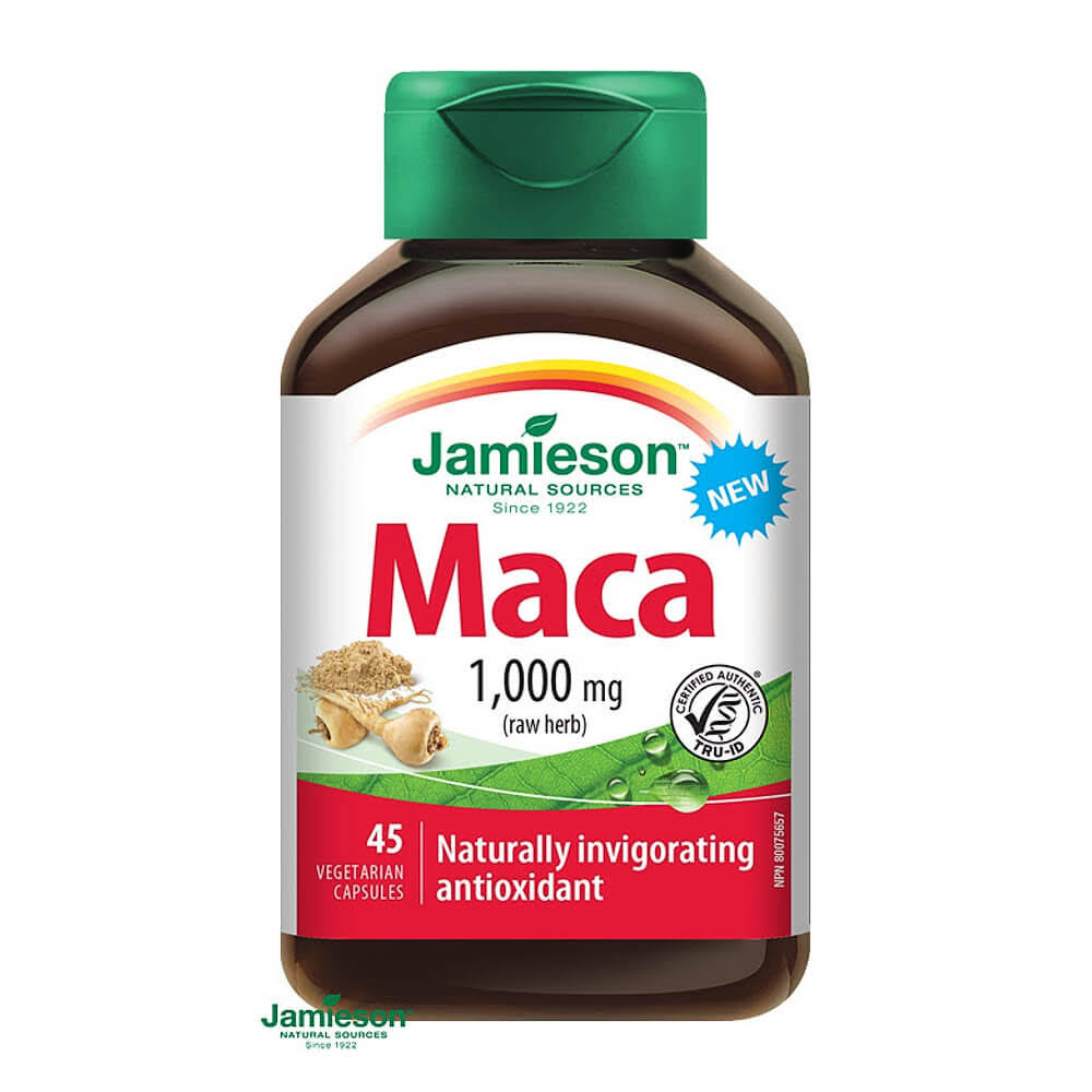 Jamieson Maca Vitamin and Mineral - 1000mg, 45ct